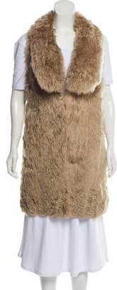 Marni Alpaca Fur Vest