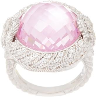 Judith Ripka Sterling Doublet & Diamonique Ring