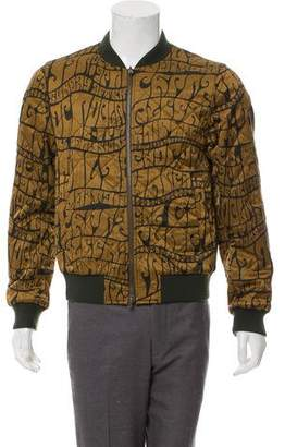 Dries Van Noten Reversible Bomber Jacket