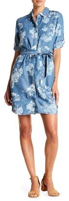 KUT from the Kloth Amerie Belted Chambray Dress