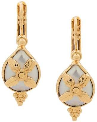 Gas Bijoux Serti ornate earrings