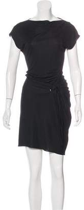 Akris Punto Draped Midi Dress