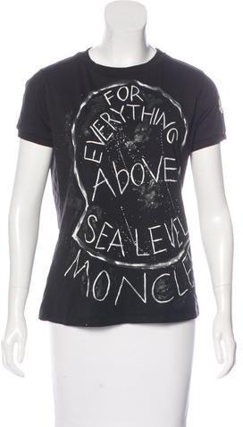 MonclerMoncler Short Sleeve Graphic Print T-Shirt