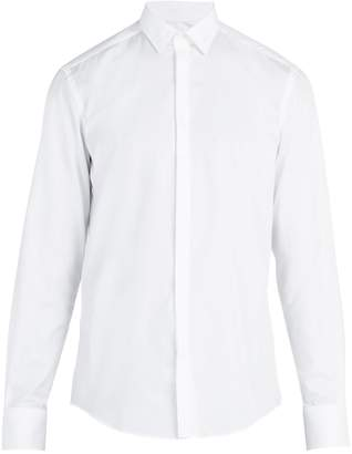 Lanvin Single-cuff cotton poplin shirt
