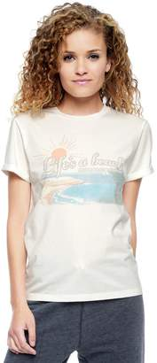Juicy Couture Lifes A Beach Graphic Tee