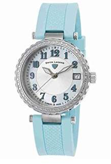 Swiss Legend Women's 'Sea Breeze' Swiss Quartz Stainless Steel and Silicone Casual Watch