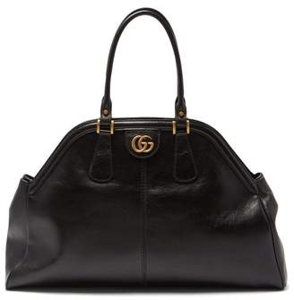 Gucci Re(belle) Leather Bag - Womens - Black
