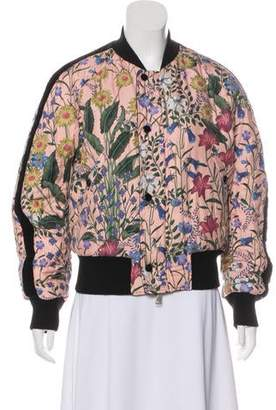 4aa2a0cd5 Gucci 2017 Embellished Bomber Jacket w/ Tags