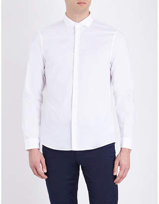 Michael Kors Slim-fit stretch-cotton shirt