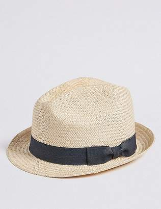 Marks and Spencer Hand Woven Trilby Hat