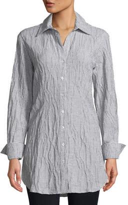 Finley Kaylynn Tech Check Tunic Shirt