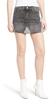 Hudson Jeans The Viper Cutoff Denim Miniskirt