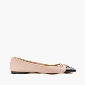 Gemma cap-toe flats $118 thestylecure.com