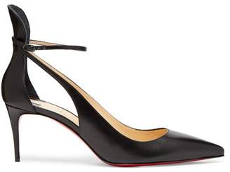 Christian Louboutin Mascara Leather Pumps - Womens - Black