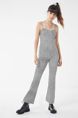 Urban Outfitters Gingham Bustier Jumpsuit