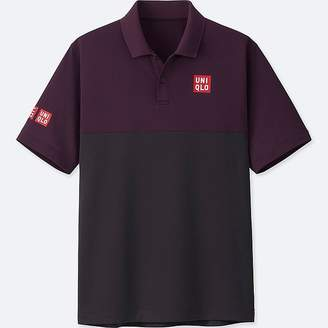 Uniqlo Men's Dry-ex Short-sleeve Polo Shirt (kei Nishikori)