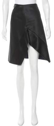 Narciso Rodriguez Colorblock A-Line Skirt w/ Tags
