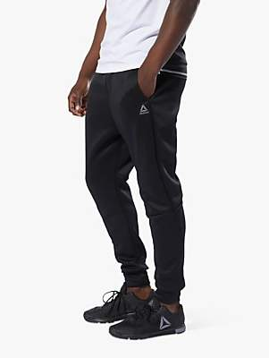 bf8642c7 Reebok One Series Training Spacer Tracksuit Bottoms, Black