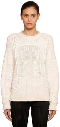 Givenchy (ジバンシイ) - GIVENCHY ウールニットセーター