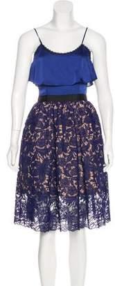 Self-Portrait Delphinium Lace Dress