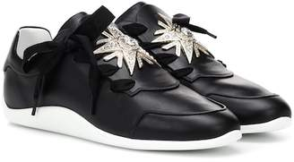 Roger Vivier Sporty Viv leather sneakers