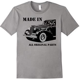 All Original Parts 75th Birthday Vintage Car 1943 T-Shirt