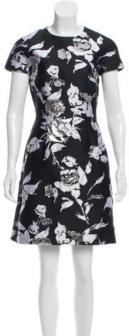 MICHAEL Michael KorsMichael Kors Brocade Mini Dress