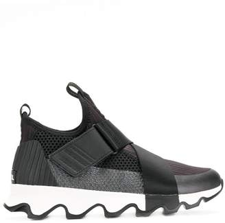 Sorel strap detail sneakers