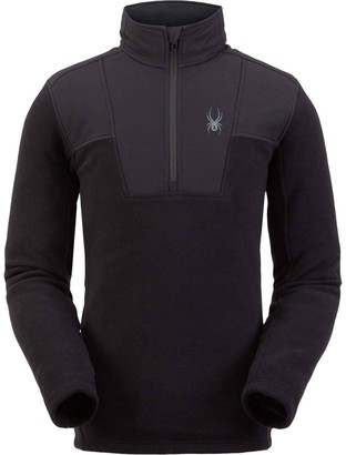 Spyder Basin Half Zip Fleece Jacket - Men's