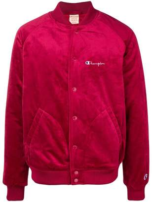 Champion velvet bomber jacket