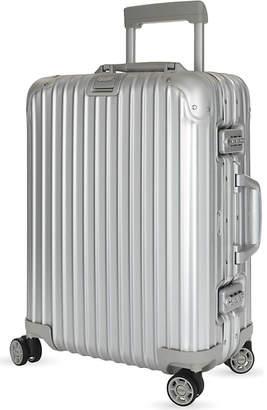 Rimowa Topas aluminium four-wheel cabin suitcase 55cm, Silver
