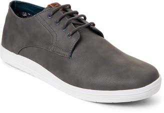 Ben Sherman Grey Preston Plain Toe Oxford Sneakers