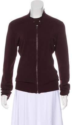 DKNY Zip-Up Cardigan