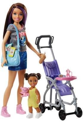 Mattel Inc. Barbie Babysitters Doll & Stroller Playset