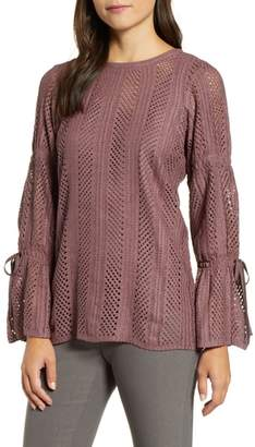Nic+Zoe Picture Perfect Bell Sleeve Top