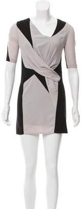 Helmut Lang Mini Short Sleeve Dress