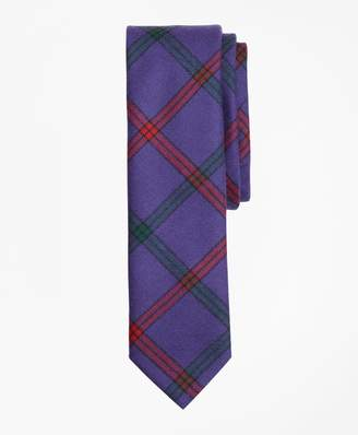 Brooks Brothers Double Windowpane Wool Tie