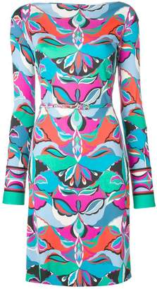 Emilio Pucci round neck shift dress