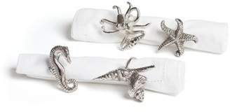 Beachcrest Home Metal Napkin Ring