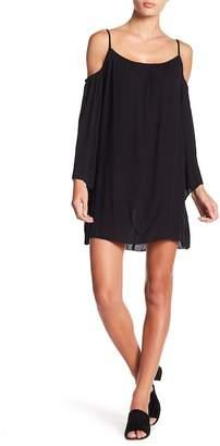 Elan International Cold Shoulder Long Sleeve Dress