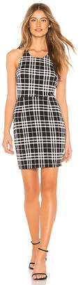 About Us Jackie Halter Neck Mini Dress