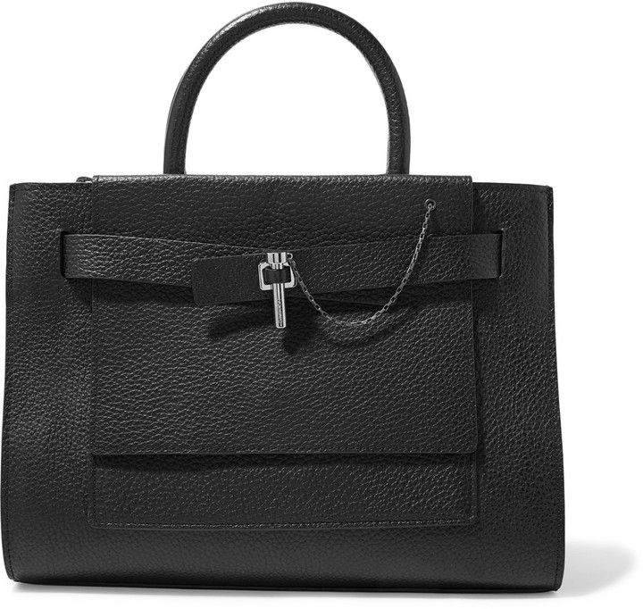 Carven Carven Malher textured-leather tote