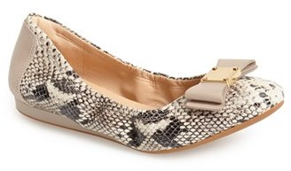 Women's Cole Haan 'Tali' Bow Ballet Flat $180 thestylecure.com