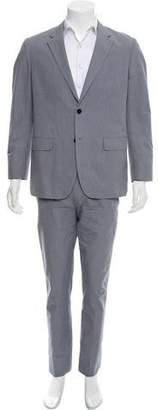 Theory Striped Two-Piece Suit