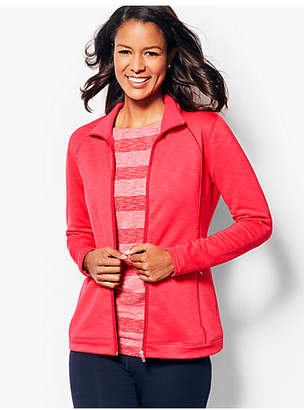 Talbots Fleece-Lined Piped Jacket