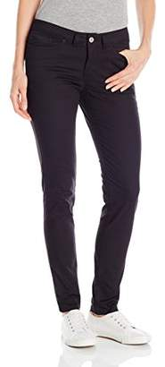 Dickies Women's 5-Pocket Slim Skinny Stretch Twill Pant
