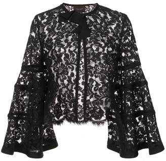 Carolina Herrera lace bolero jacket