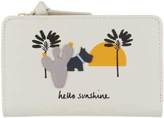 "Radley London London Medium Zip Top ""Hello Sunshine"" Wallet"