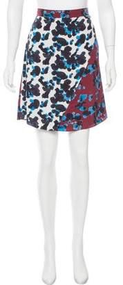Tanya Taylor Ava Silk Wrap Skirt w/ Tags