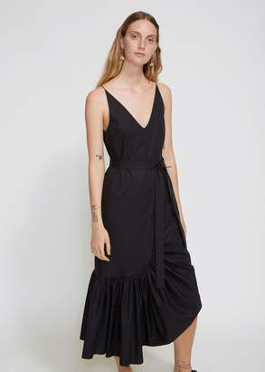 Rosetta Getty Ruffle Camisole Dress